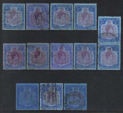 Bermuda 1938-1953 Defins Sg116 Used Selection Not Checked
