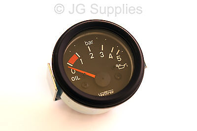 12v Oil Pressure Gauge 0 to 5 Bar 10-180 ohm