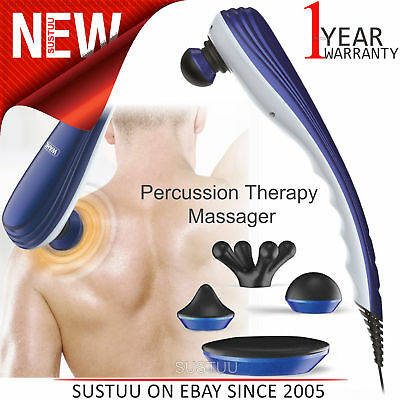 Wahl Deep Tissue Percussion Therapy Massager│4 Extra Attachments│2 Speed Setting