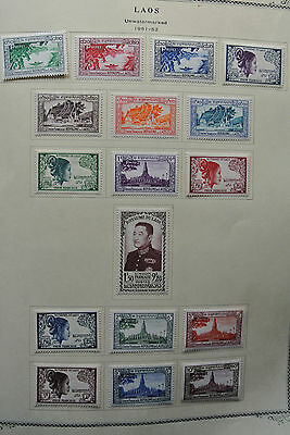 Lot 26218 Collection stamps of Laos 1951-2008!
