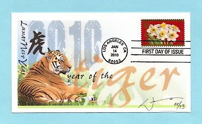 U.s. Fdc #4435 William Iii Cachet - Chinese Lunar Year Of The Tiger
