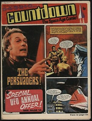Countdown #39 Dr Who, The Persuaders, Ufo, Stingray, Fireball Xl5 - Great Art