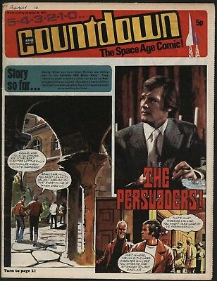 Countdown #37 Dr Who, The Persuaders, Stingray, Fireball Xl5 - Great Artwork!