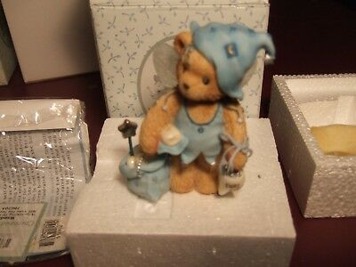 Cherished Teddies #786705 Wanda dressed as a tooth fairy A sprinkling of fairy d