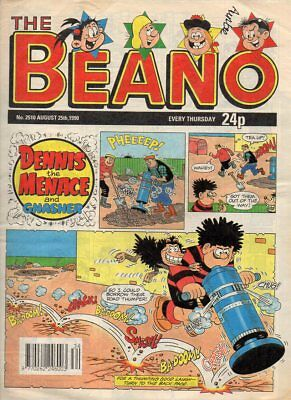 THE BEANO COMIC - No 2510 25 AUGUST 1990