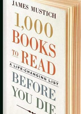 1,000 Books To Read Before You Die, Brand New, Never Read, First Edition 2018