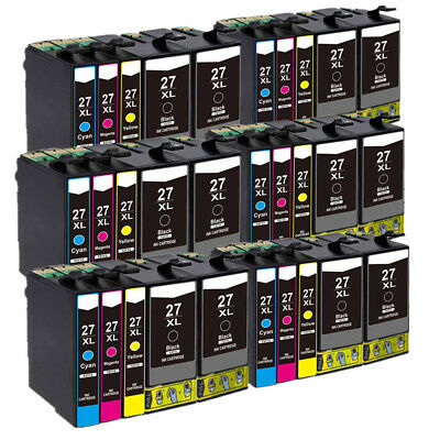 30 Ink Cartridges For Epson Workforce WF-3620DWF WF-3640DTWF WF-7110DTW WF-7610