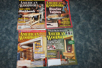 American Woodworker Magazine 146 February March 2010 3 50 Picclick