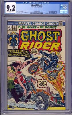 Ghost Rider #3 CGC 9.2 (1973) John Romita cover Witch-Woman Son of Satan