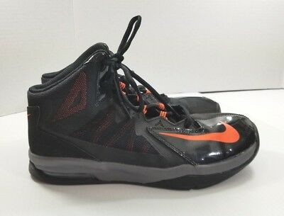 new style db1f9 4892c 7 Youth Nike Air Max Stutter Step 2 Black Hyper Crimson Grey GS Basketball  Shoes