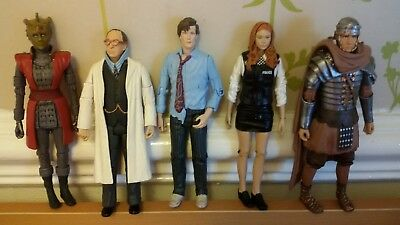 Doctor Who The 11th Doctor Set Of 5 Figures*Amy Pond,Rory,Alaya,Professor & Doc