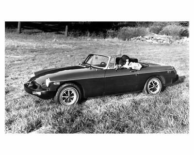 1976 MG MGB Factory Photo uc4990