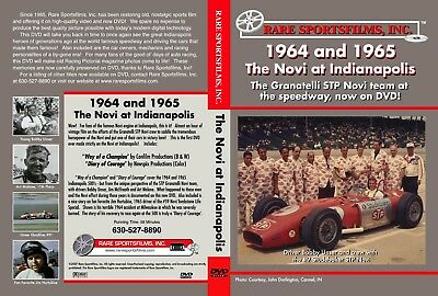 The Novi at Indianapolis  500 - 1964 & 1965 now on DVD!