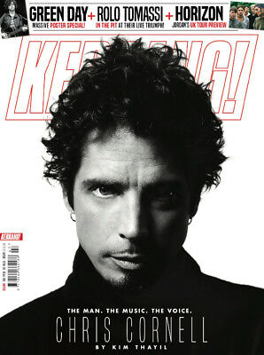 KERRANG MAGAZINE NOV 2018 CHRIS CORNELL TRIBUTE SOUNGARDEN by KIM THAYIL