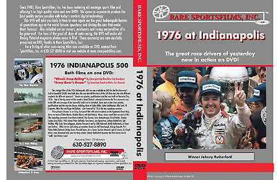 1976 At Indianapolis, Johnny Rutherford now in COLOR on DVD!