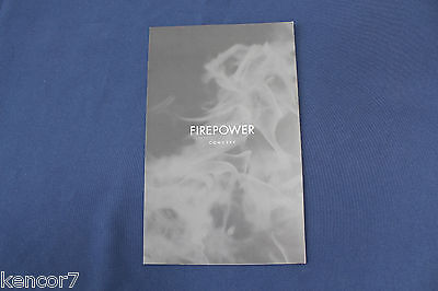 2005 Chrysler Firepower Concept Car Brochure D8463