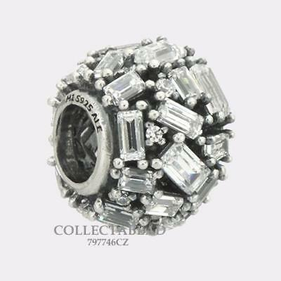 Authentic Pandora Sterling Silver CZ Chiselled Elegance Bead 797746CZ ***NEW***