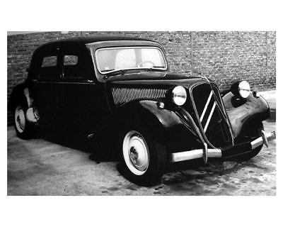 1934 Citroen 11CV Traction Avant Factory Photo uc7366