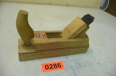 0286.  Alter Hobel Holzhobel Handhobel   Old Wood Plane Working Tool
