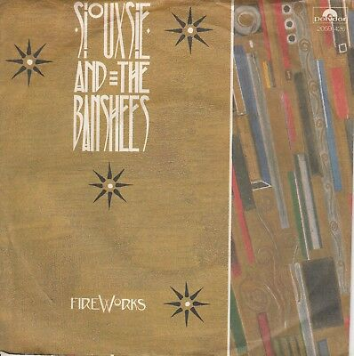 """7""""-   Siouxsie And The Banshees = Fireworks / Coal Mind ................1982"""