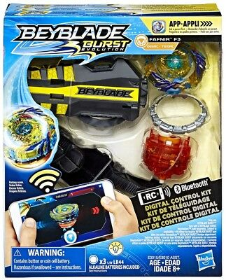 Beyblade Burst Evolution Digital Control Fafnir F3 Starter Pack