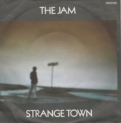 """7""""-   The Jam = Strange Town / The Butterfly Collector"""