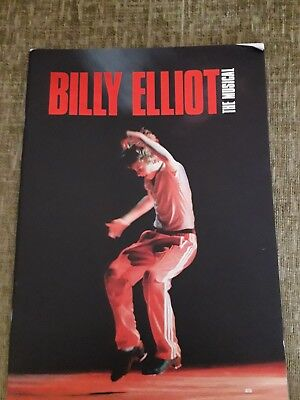 """billy Elliot""  Theatre Program Uk Orig."