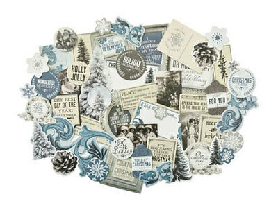 *A&B* KAISERCRAFT Scrapbooking Collectables Frosted - CT864
