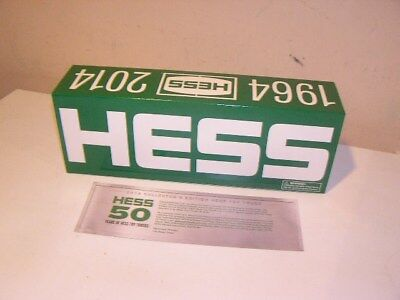 Hess 1964-2014 50th Anniversary Special Edition Truck-MIB!!