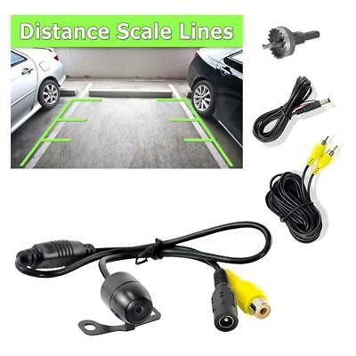 Pyle Rear View Backup Camera, Distance Scale Line Display, Waterproof Parking As