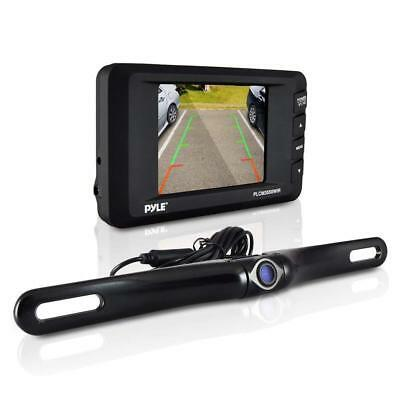 Wireless Rear View Back-up Camera & Monitor Parking/Reverse Assist System, 3.5''