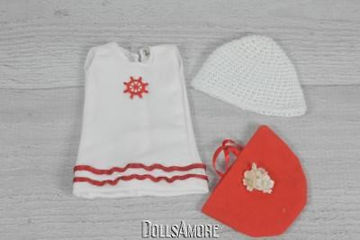 "HELEN KISH PATTY DOLL CLOTHES TOP-POCKETBOOK & KNIT HAT 9-10"" Slim Dolls #2"