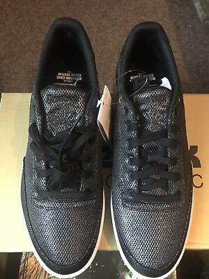 66421d4a0073e REEBOK CLUB C 85 Metallic Mesh Womens Trainers 7.5 Uk - £16.00 ...
