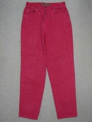 QB01419 1992 USA **LEVI'S** 573-0992 RELAXED FIT WOMENS JEANS sz12 PINK