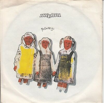 """7""""-   The Cure = Primary / Descent ...................1981"""