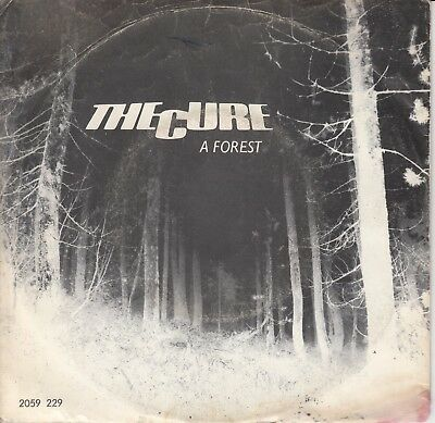 """7""""-   The Cure = A Forest  / Another Journey By Train ............1980"""