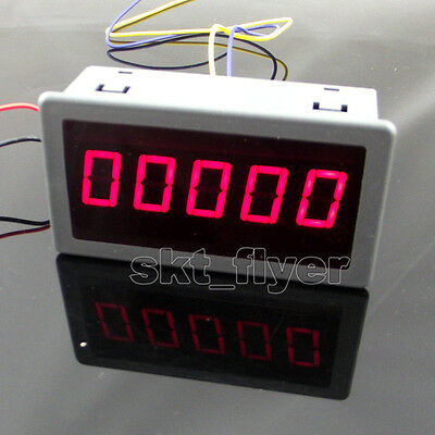 """0.56"""" Red LED Digital Counter & Timer & Meter count Three Function DC 12-24V"""