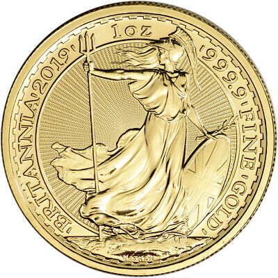 2019 Great Britain Gold Britannia £100 - 1 oz - BU