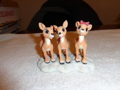 Enesco Rudolph Holidays are Made Fun When You Share Them Clarice & Friends