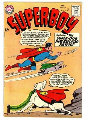 Superboy #109 (1963) Fine New DC Silver Age Collection