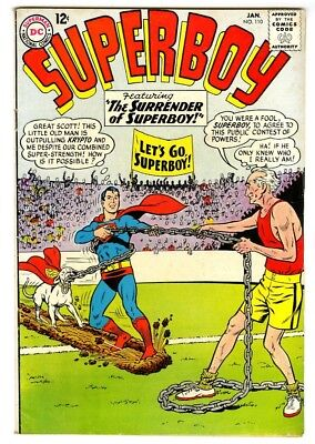 Superboy #110 (1963) Fine New DC Silver Age Collection