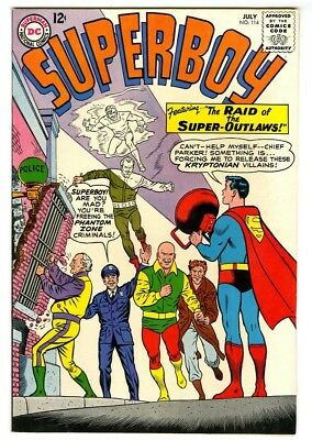 Superboy #114 (1963) VF+ New DC Silver Age Collection