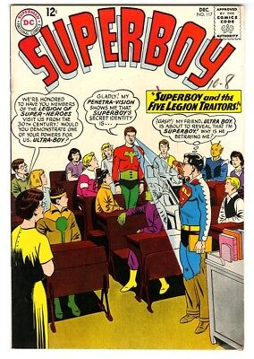 Superboy #117 (1963) VF+ New DC Silver Age Collection
