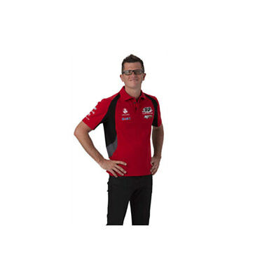 Holden Racing Team Hrt Mens Team Polo Red Sizes Small And Medium Only