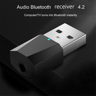 USB Bluetooth 4.2 Wireless Audio Music Stereo adapter Dongle receiver