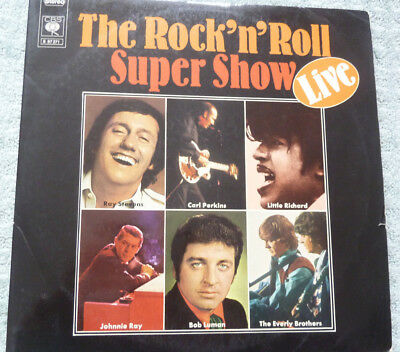 DO-LP The Rock´n Roll Super Show D CBS S 67 271 Carl Perkins-Bob Luman-Crickets