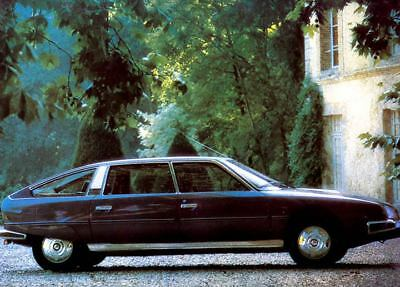 1976 Citroen CX Factory Photo c1418-E9Z4AJ