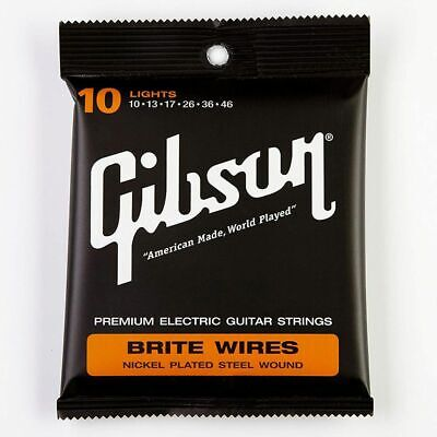Gibson Brite Wires Guitar Strings - 10-46