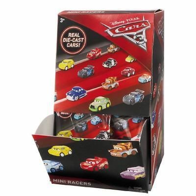 Disney Pixar Cars 3 Mini Micro Diecast Racers Vehicles Blind Bag FBG74- 36 Cars