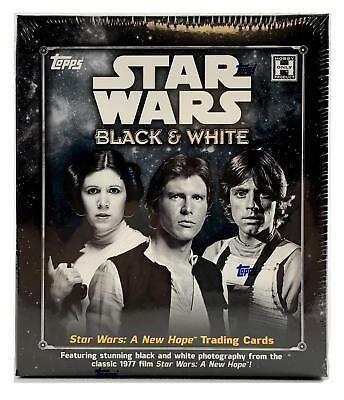 Star Wars Black & White: A New Hope Trading Cards Box (Topps 2018)